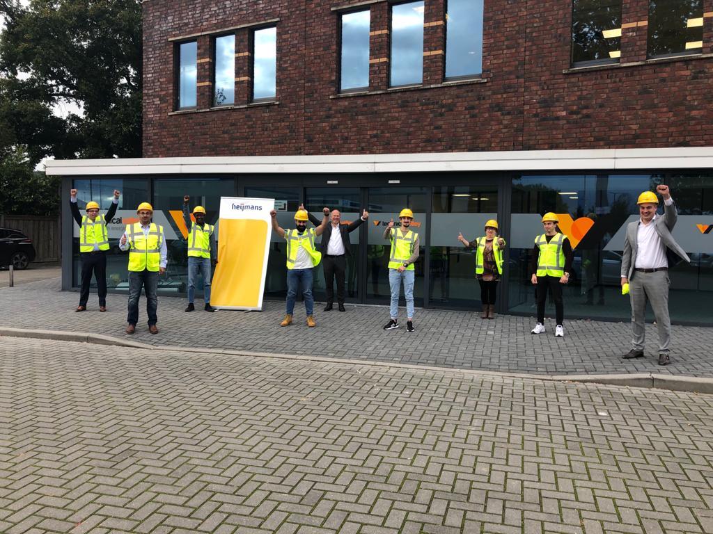 Heijmans investeert in opleidingstraject voor gevluchte technici