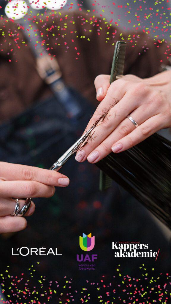 Deelnemers kappersopleiding ontvangen eerste certificaat als hairstylist