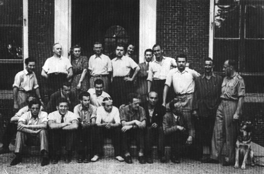 Eerste UAF-studenten 1948