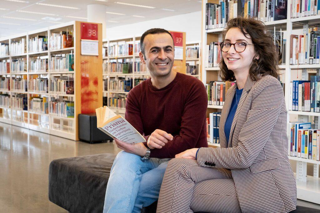 De Turkse Aylin en Arvin leerden elkaar kennen via een boek
