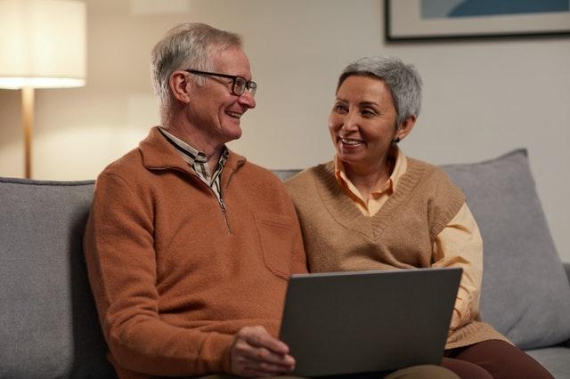 Stockfoto - ouder echtpaar