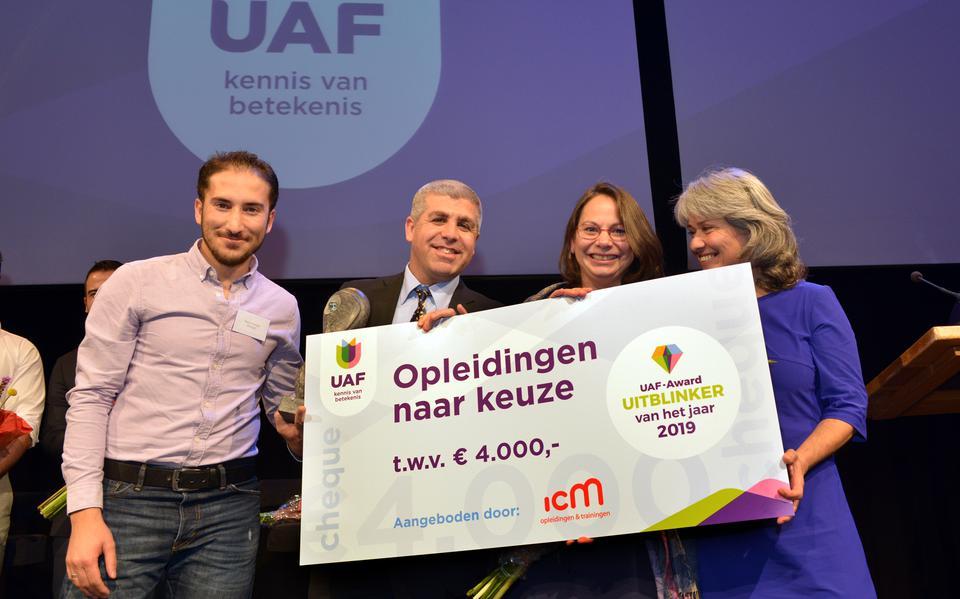 Winnaars UAF-Award 2019 Karoun en Rani