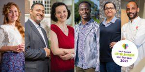 UAF-Award 2021 genomineerden met vignet