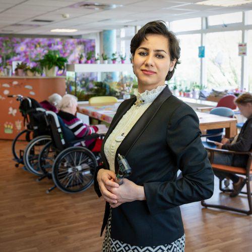 Nazila Hosseini door Suzanne Blanchard voor het UAF