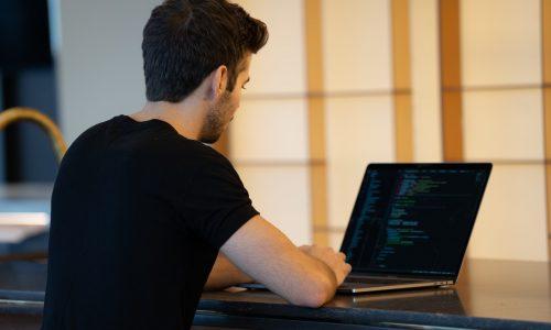 ICT developer - stockfoto